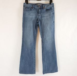 Anthro Level 99 | Low Rise Bootcut Jeans Size 30
